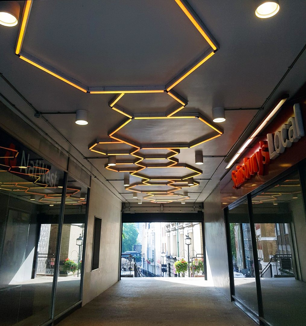 buckingham arcade cool LED Linear hexagons.jpg