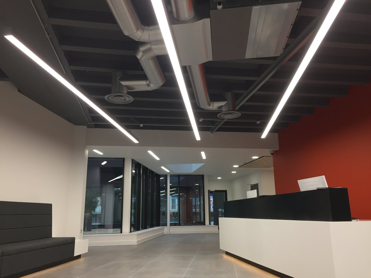 Suspended and recessed LED Linear Lighting