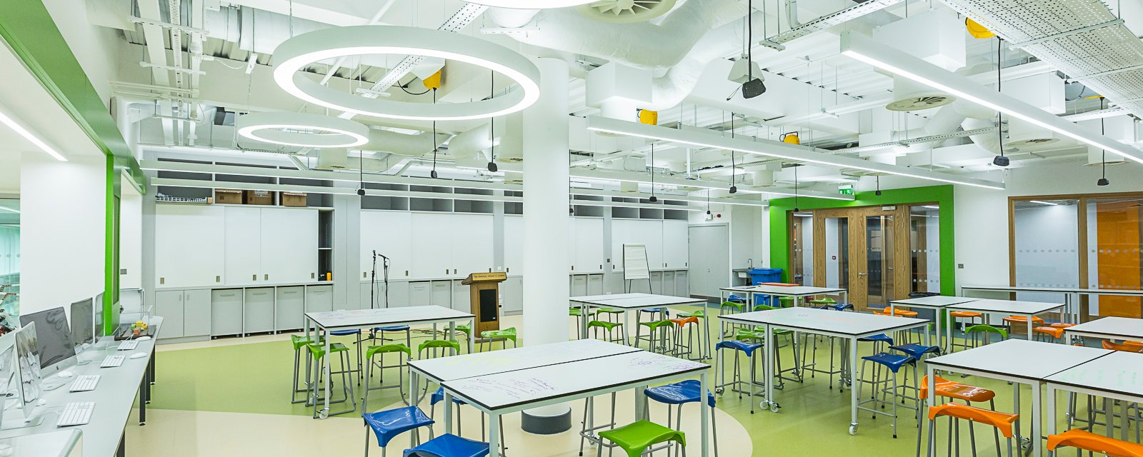 LED ring pendant lighting school.jpg