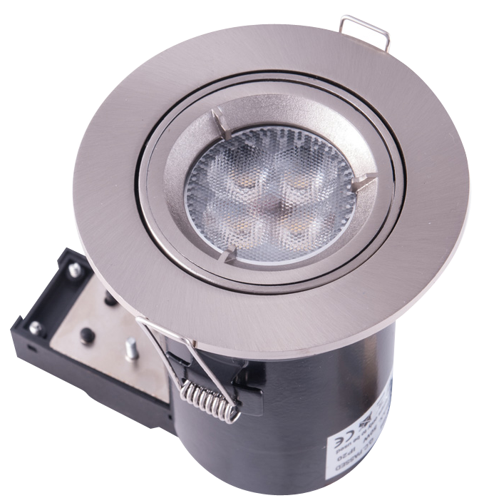 LED downlight system stainless steel