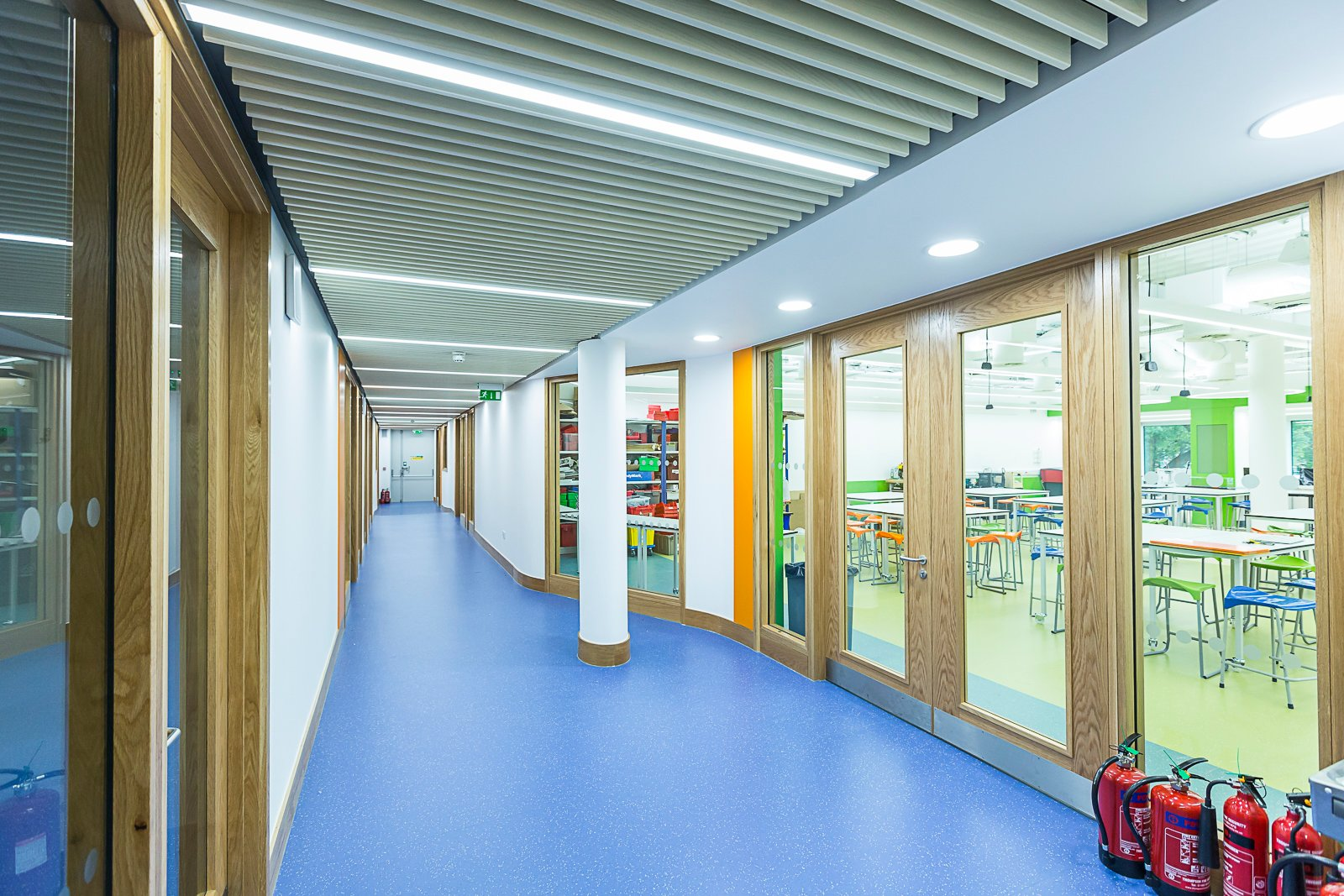 Recessed LED Linear lighting school.jpg