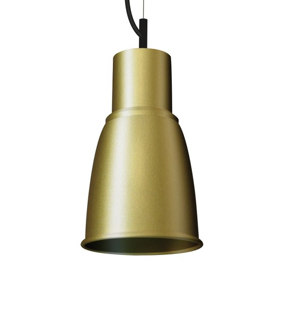 Industrial metal decorative pendant gold