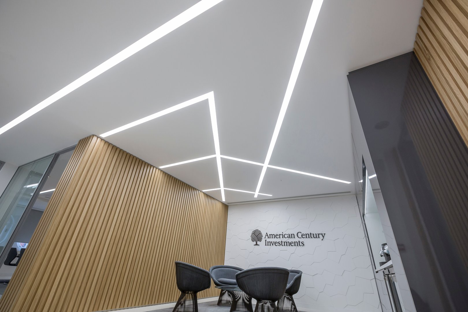 Linear LED Recessed luminaire bespoke