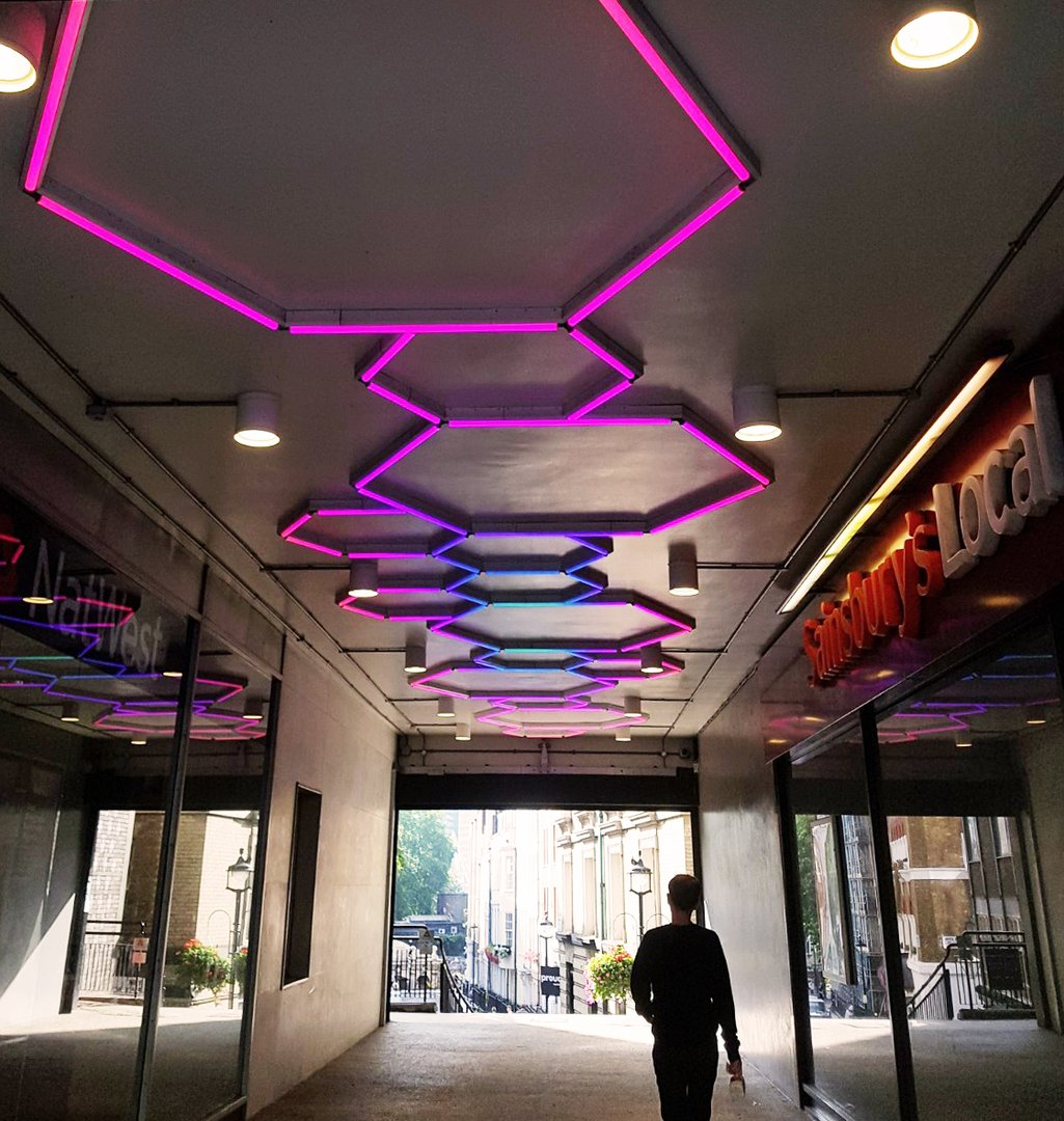 buckingham arcade LED linear hexagon.jpg