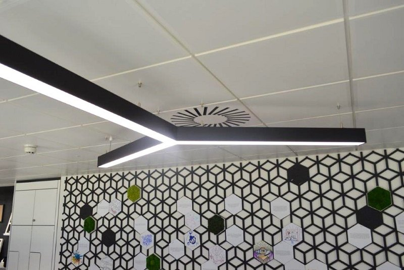 Linear LED Statement Pendant
